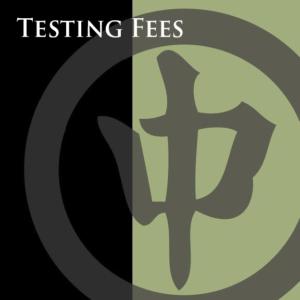testing fees